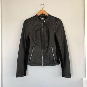Express Black Pleather Jacket 🖤